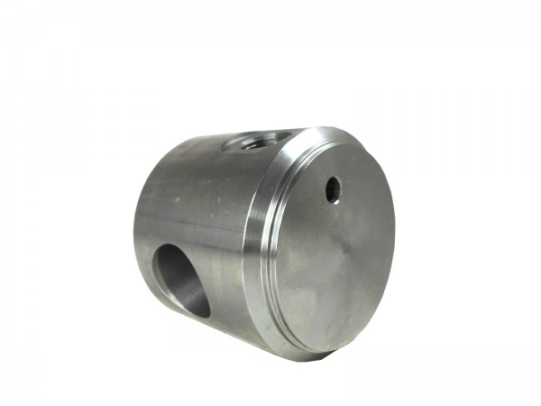 Zylinderboden mit Ölanschluss und Bohrung BA060070