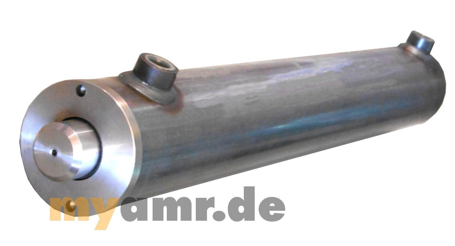 Hydraulikzylinder Doppelwirkend DW Zylinder 50//28 320 Hub mit Gelenkaugen 30mm
