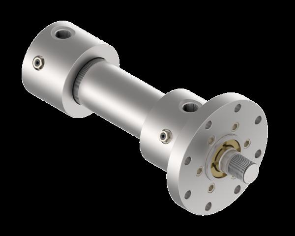 100/70x1100 - Hydrozylinder nach ISO 6020/1 MF3 mit Rundflansch am Kopf