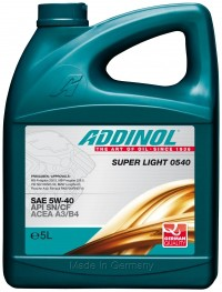 Motorenöl Super Light 0540 - SAE 5W-40 05L