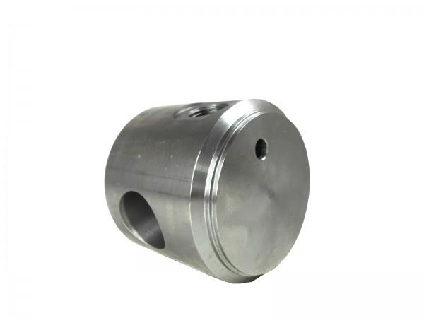 Zylinderboden mit Ölanschluss und Bohrung BA040050