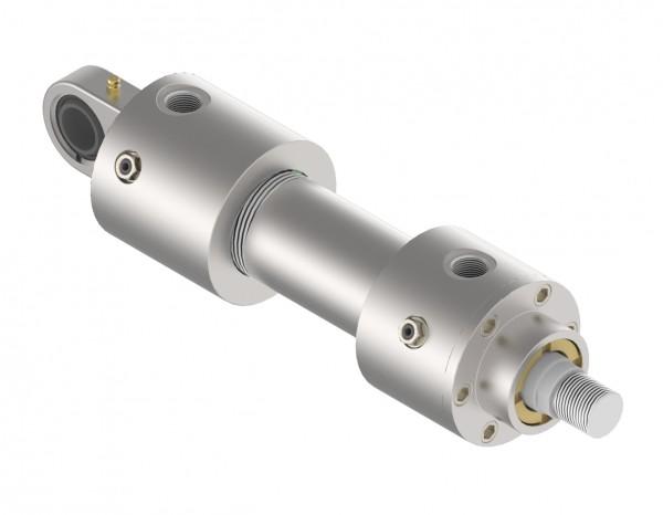 40/28x0700 - Hydrozylinder nach ISO 6020/1 MP5 mit Gelenklager