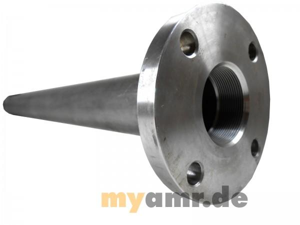 Zylinderrohr Ø 100 x 0500 Hub mit Flansch